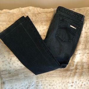 Michael Kors denim jeans 12 bell bottom